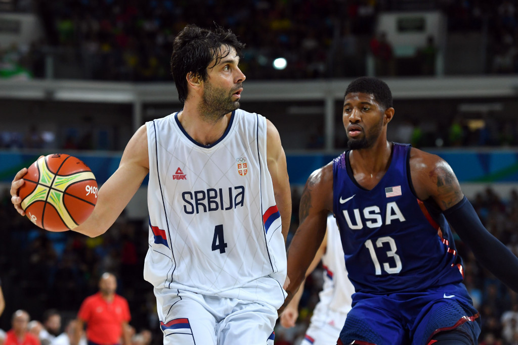 Serbia rise in FIBA world rankings after medal success at Rio 2016 Olympics