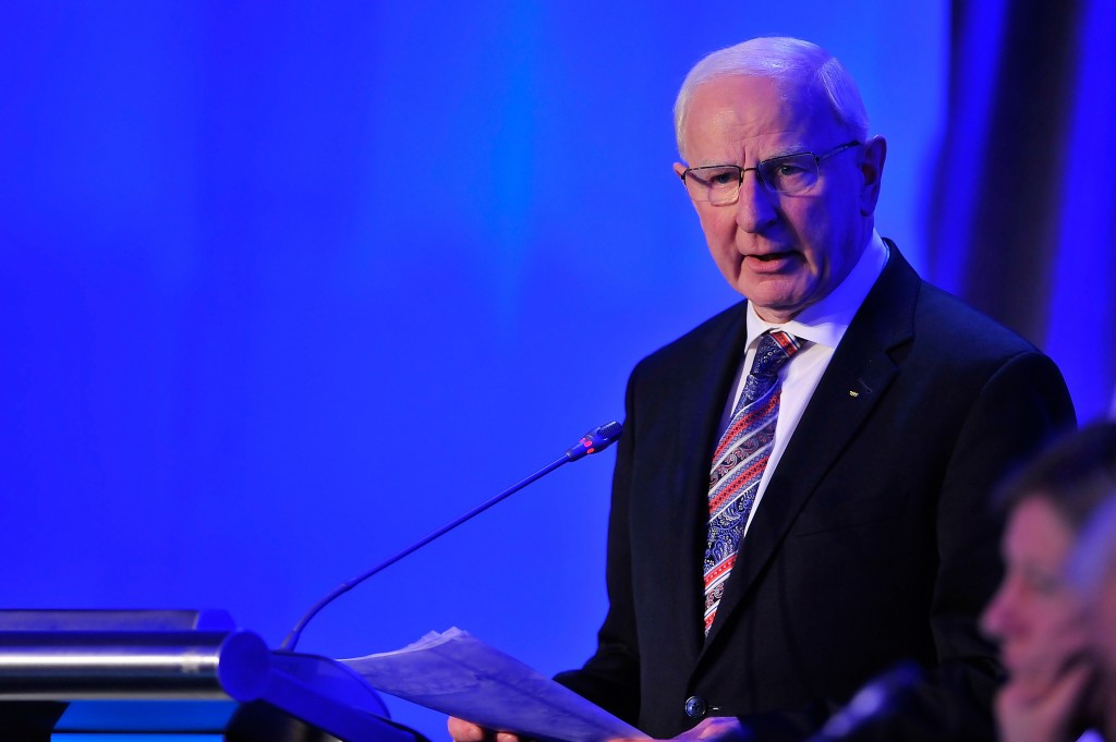Patrick Hickey has been accused of having full responsibility for Irish ticketing allocations ©Getty Images