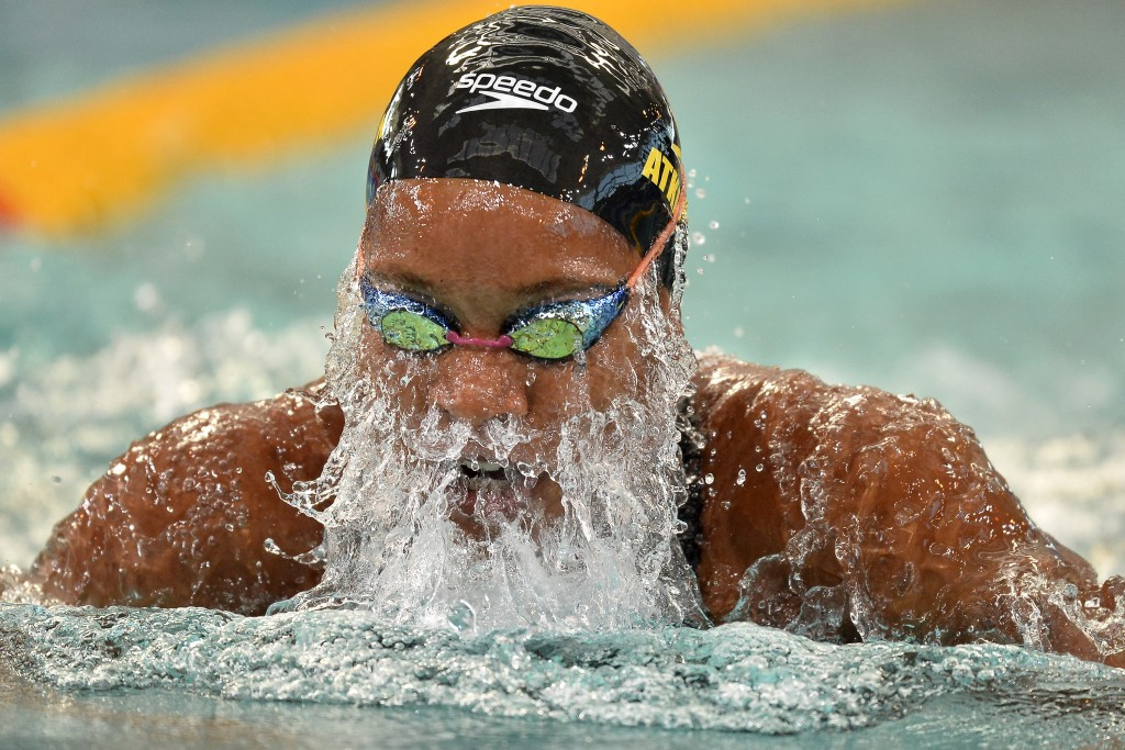 Atkinson breaks 50m breaststroke world record on second day of FINA World Cup in Tokyo