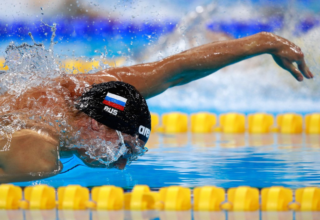 Russia's Vladimir Morozov began the 2016 FINA Swimming World Cup season in style by breaking the men's 100 metres individual medley world record in Paris-Chartres ©Getty Images