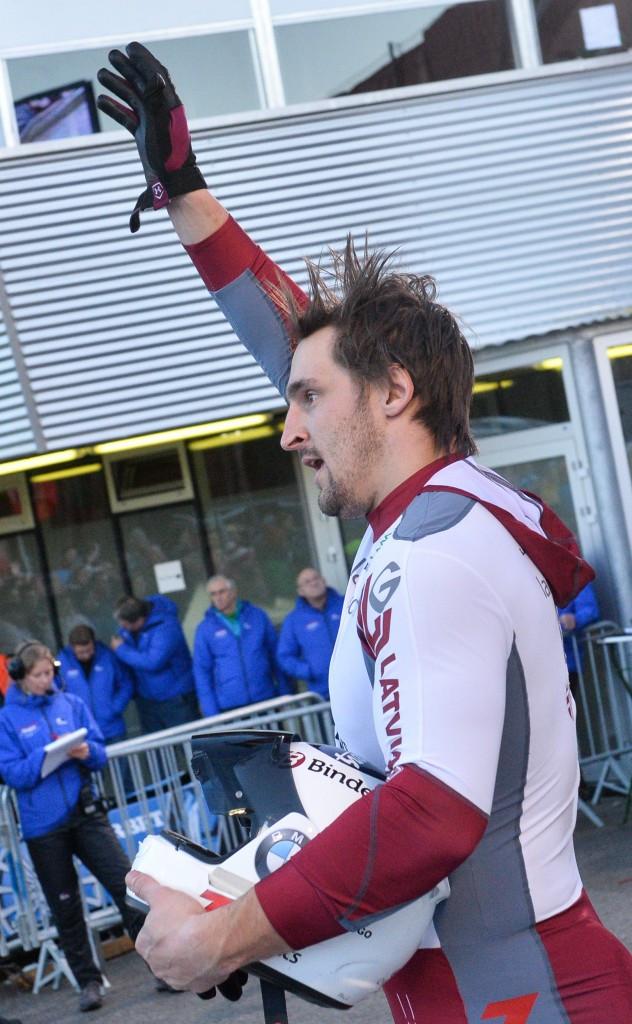 Latvian bobsleigh world champion undergoes spinal surgery