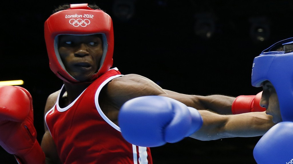 Thomas Essomba was one of five Cameroonian boxers that went missing during London 2012 ©Getty Images