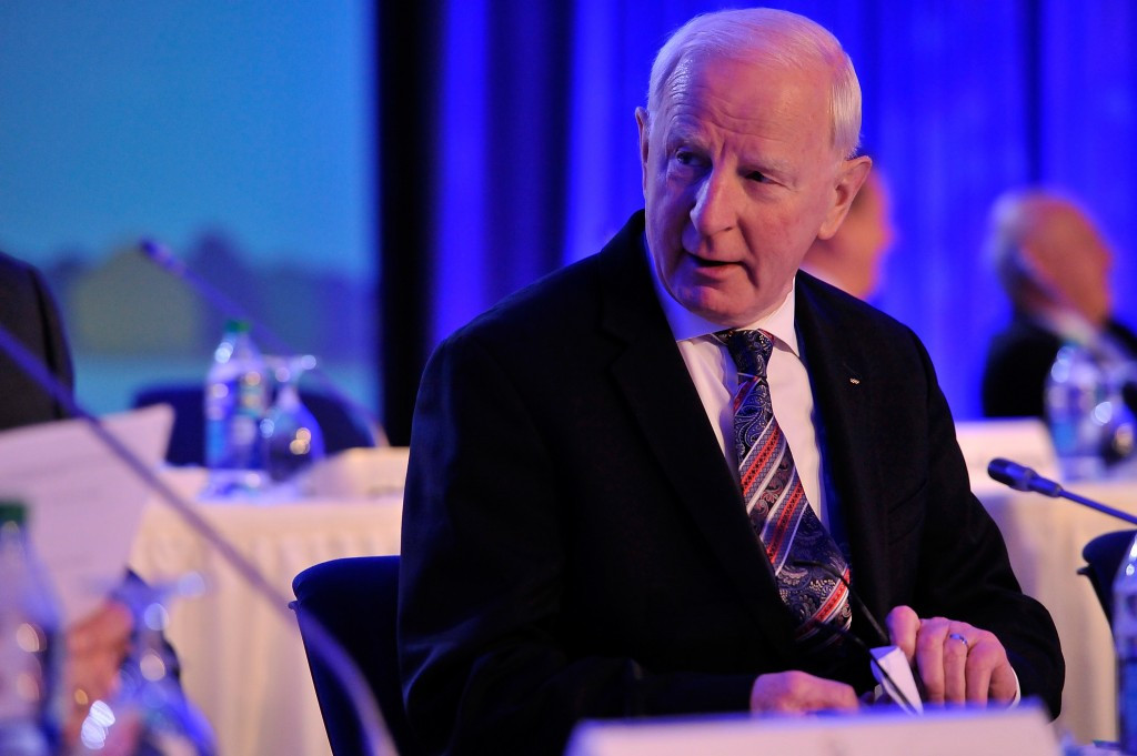 Kevin Mallon has been sharing a cell with OCI President Pat Hickey ©Getty Images