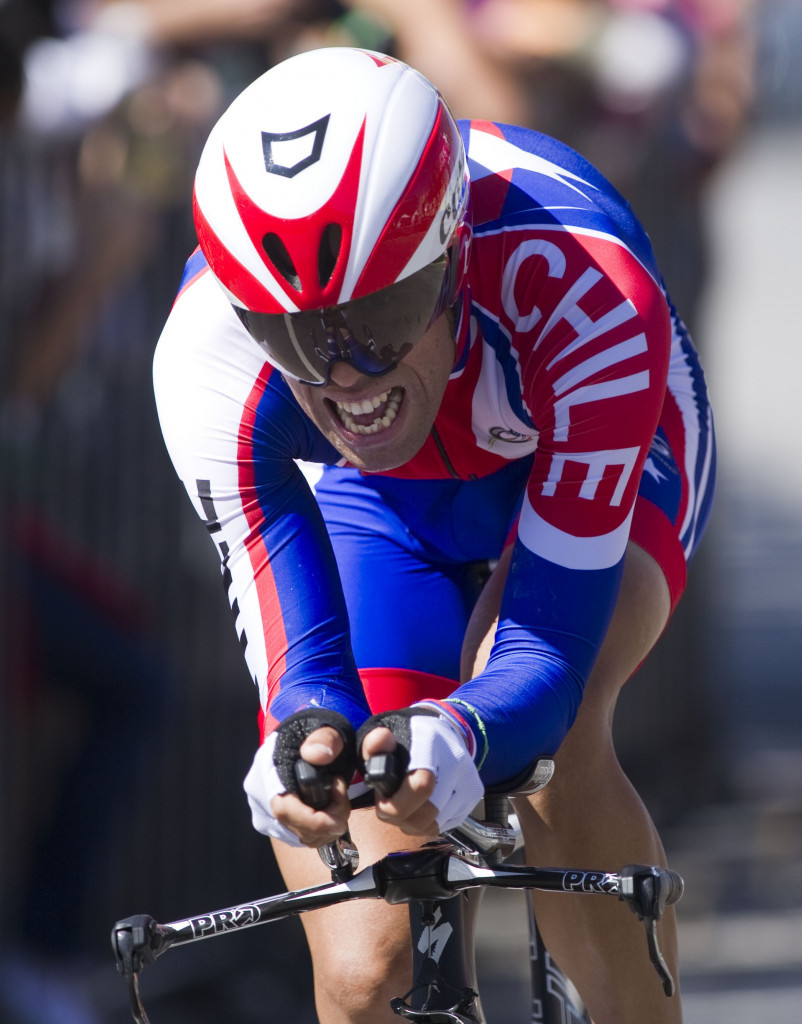 Carlos Oyarzun has been handed a four-year ban by the UCI ©Getty Images