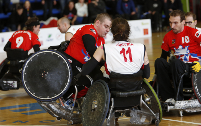Austria have been drawn into Pool B ©IWRF