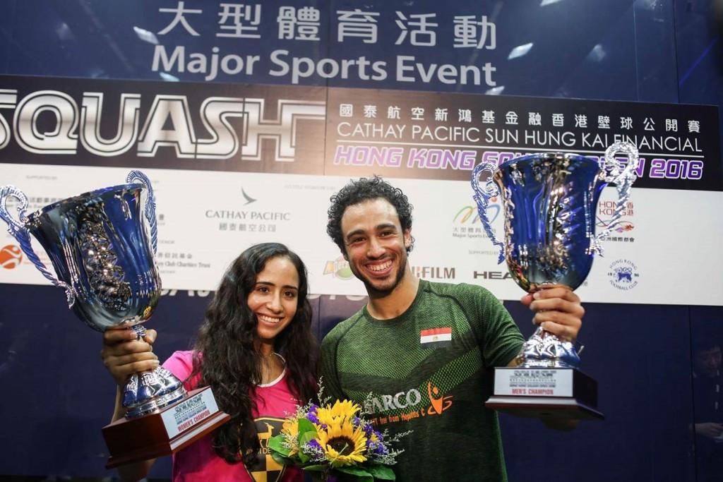 Ashour and Gohar claim Egyptian double at PSA Hong Kong Open