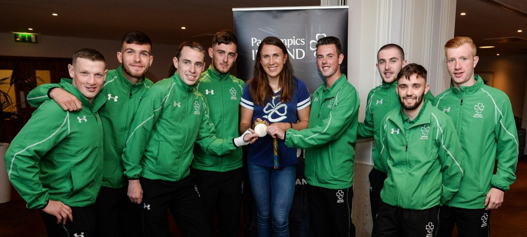 Ireland's Minister of State for Tourism and Sport bids farewell to members of Paralympic team