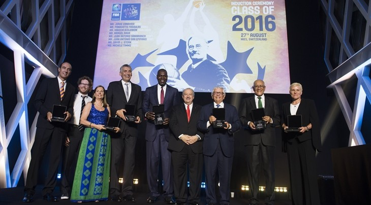 Seven inducted into 2016 FIBA Hall of Fame