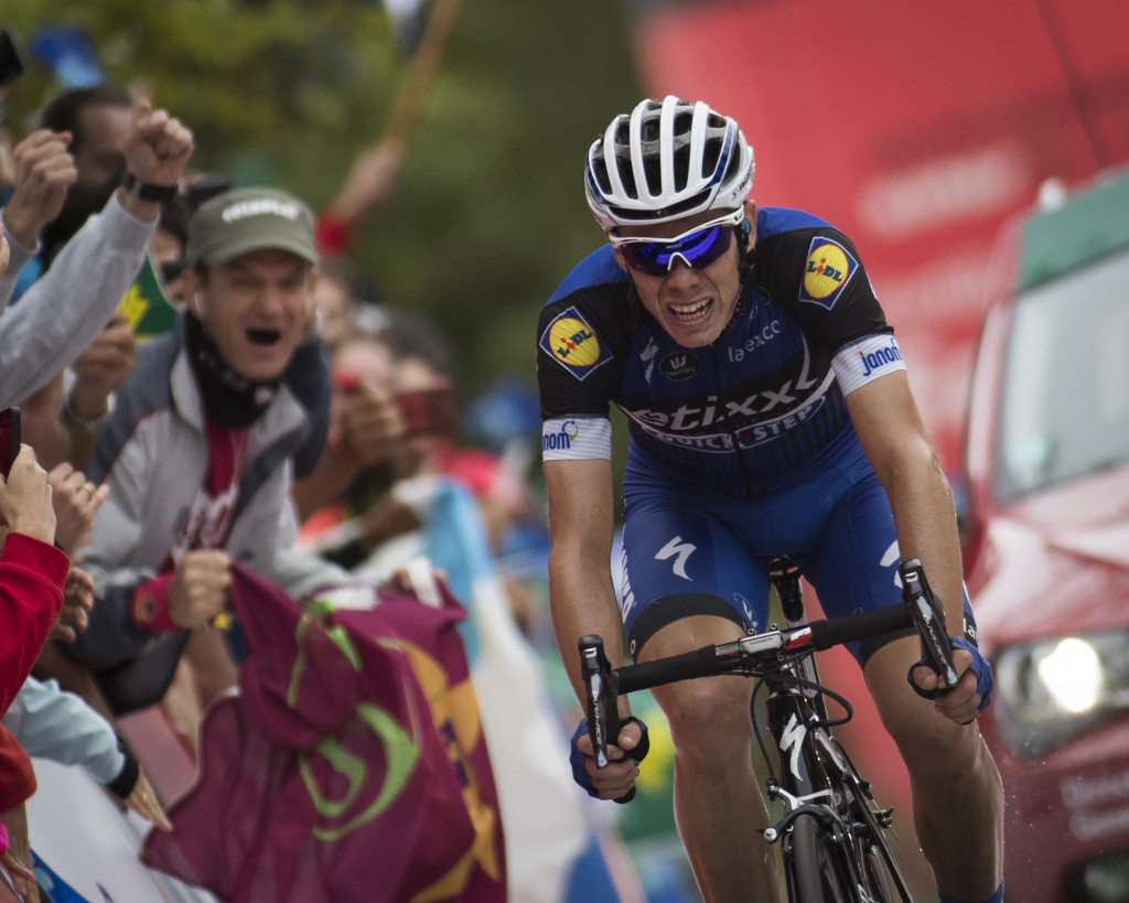 De La Cruz earns race lead after stage nine win at Vuelta a España