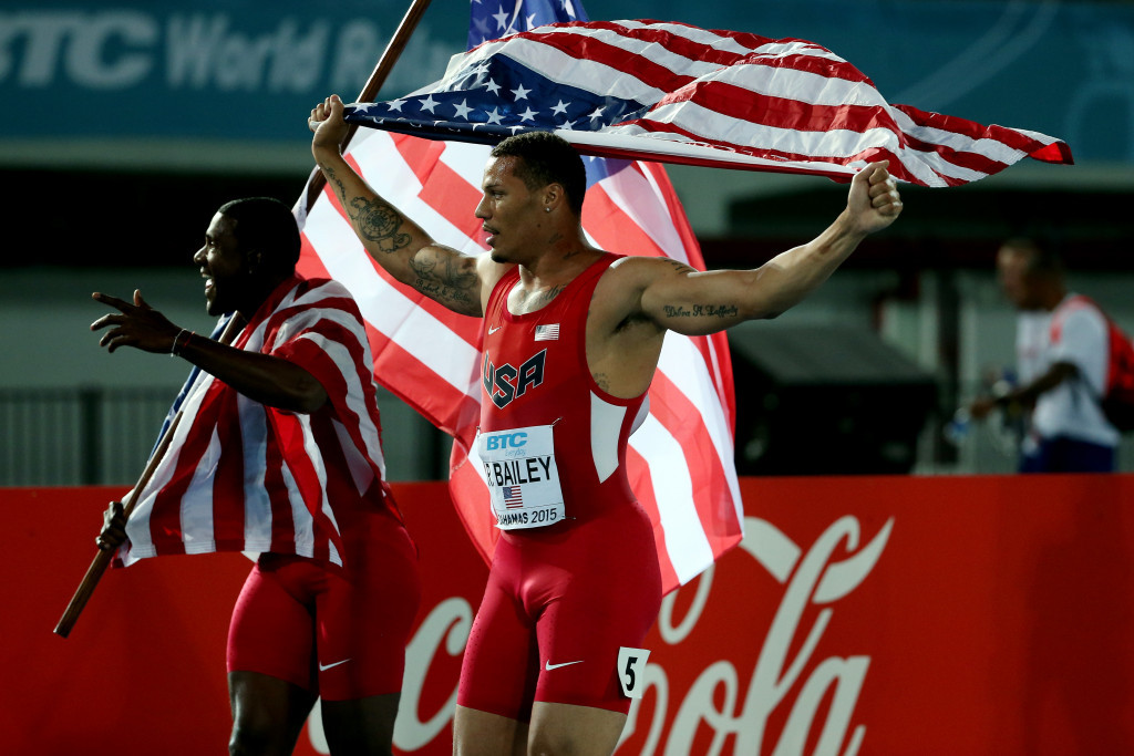 USA sprinter Ryan Bailey has become the latest athlete to switch to winter sports ©Getty Images