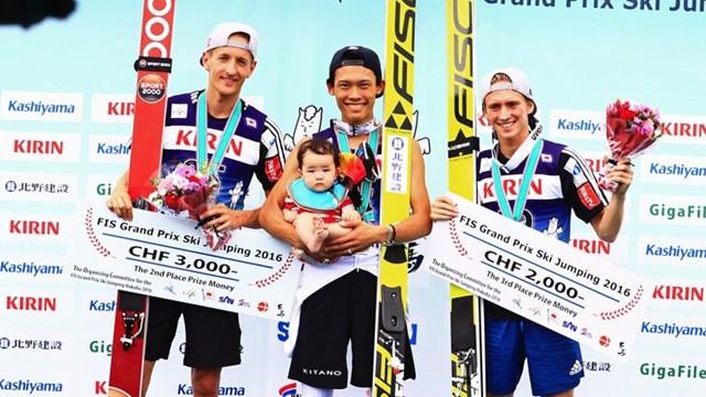 Fannemel and Takeuchi both land wins at FIS Ski Jumping Grand Prix event in Japan