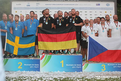 Germany claim both team titles at European Minigolf Championships