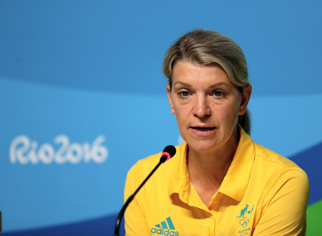 Australia's Chef de Mission Kitty Chiller defended the nine athletes who were initially detained ©Getty Images