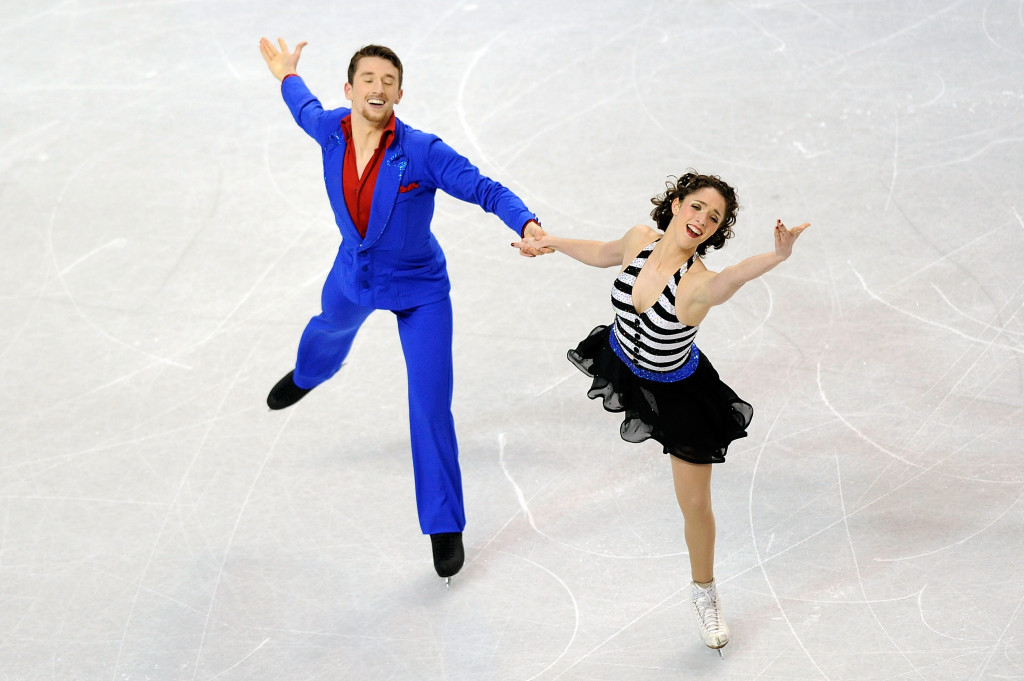 Alexander Gamelin (left) is one of two American figure skaters that has applied for South Korean citizenship with an eye on competing at the 2018 Winter Olympics ©Getty Images