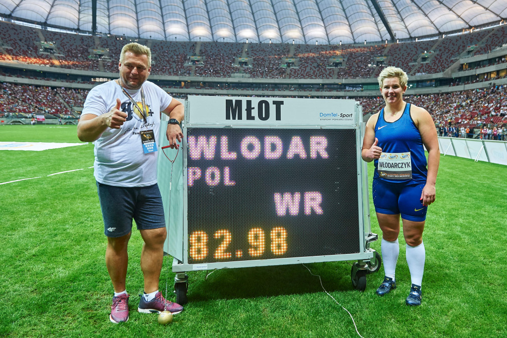 Olympic champion Wlodarczyk breaks hammer world record for second time in two weeks