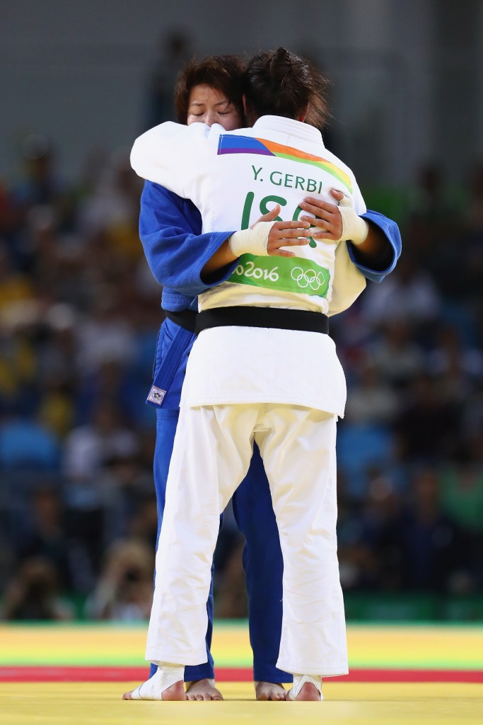 Judo bronze medallist Gerbi auctions Rio 2016 name patch to raise money for medical centre