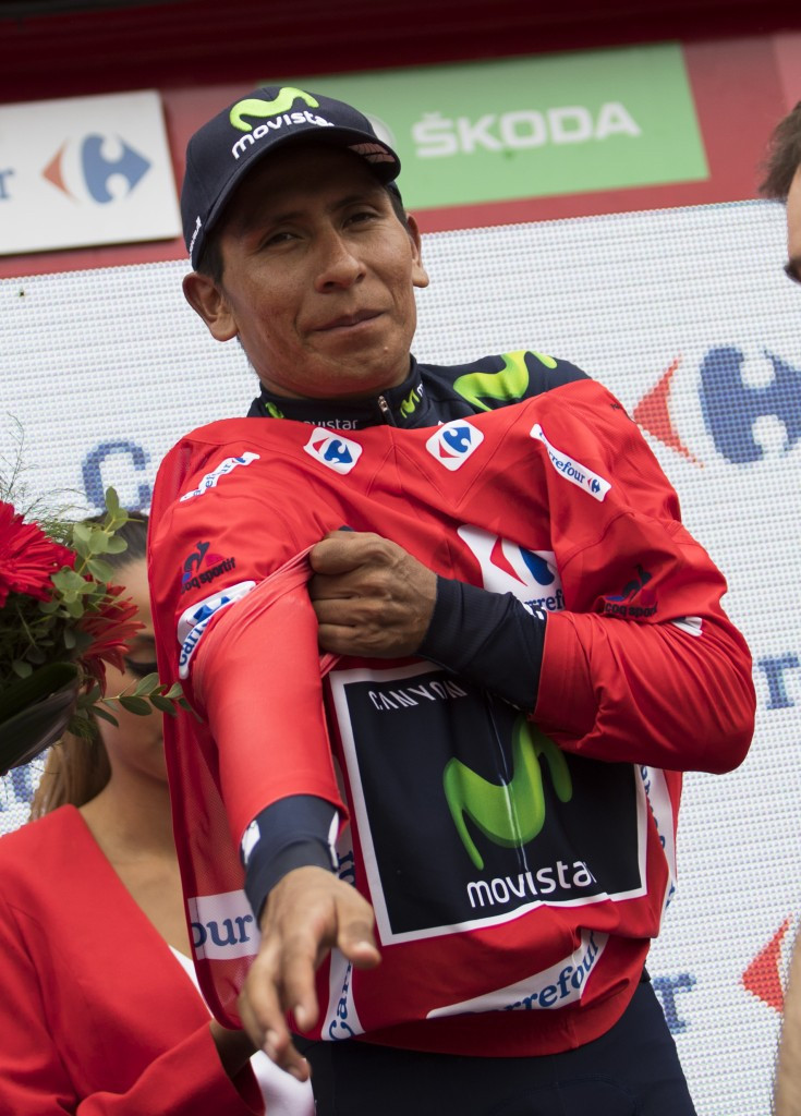 Quintana reclaims red jersey after storming to stage 10 win at Vuelta a España