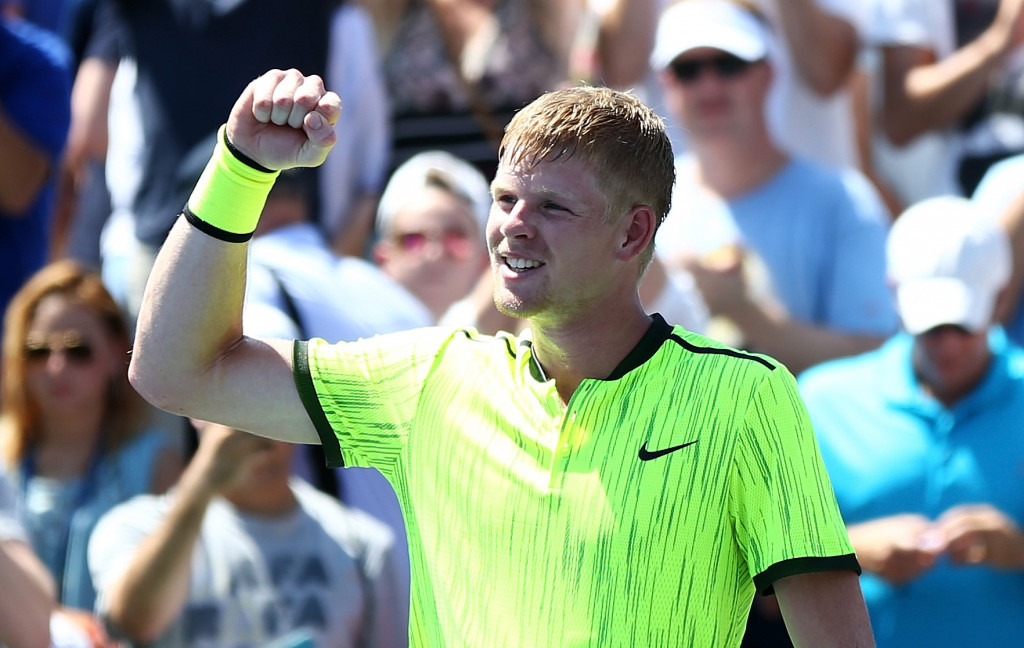 Britain's Kyle Edmund shocked Richard Gasquet on day one at the US Open ©Getty Images