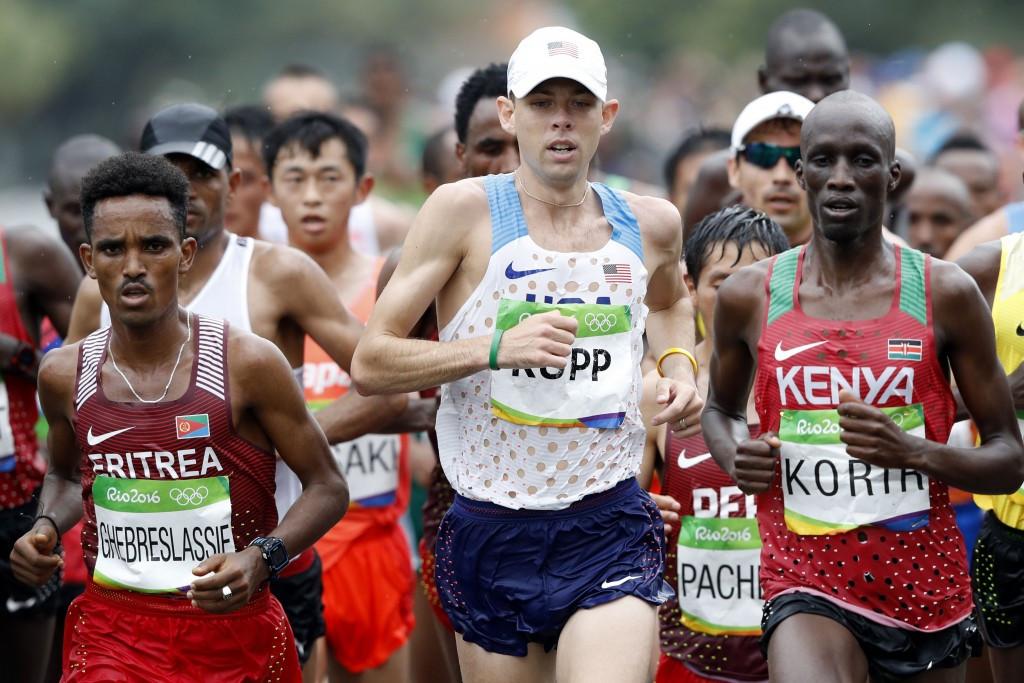 Kenyan Marathon runner Wesley Korir has been outspoken about the problems ©Getty Images