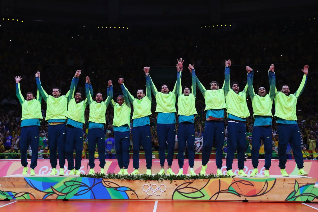 Brazil and China top FIVB world rankings after Rio 2016 gold medals