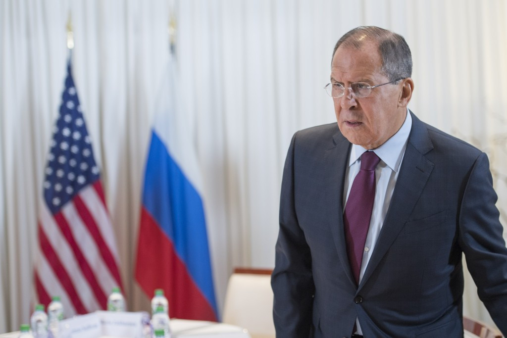 Russian Foreign Minister Sergey Lavrov has accused the IPC of violating UN statutes ©Getty Images