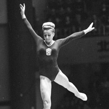 Legendary Czech gymnast Vera Caslavska has died aged 74 ©FIG