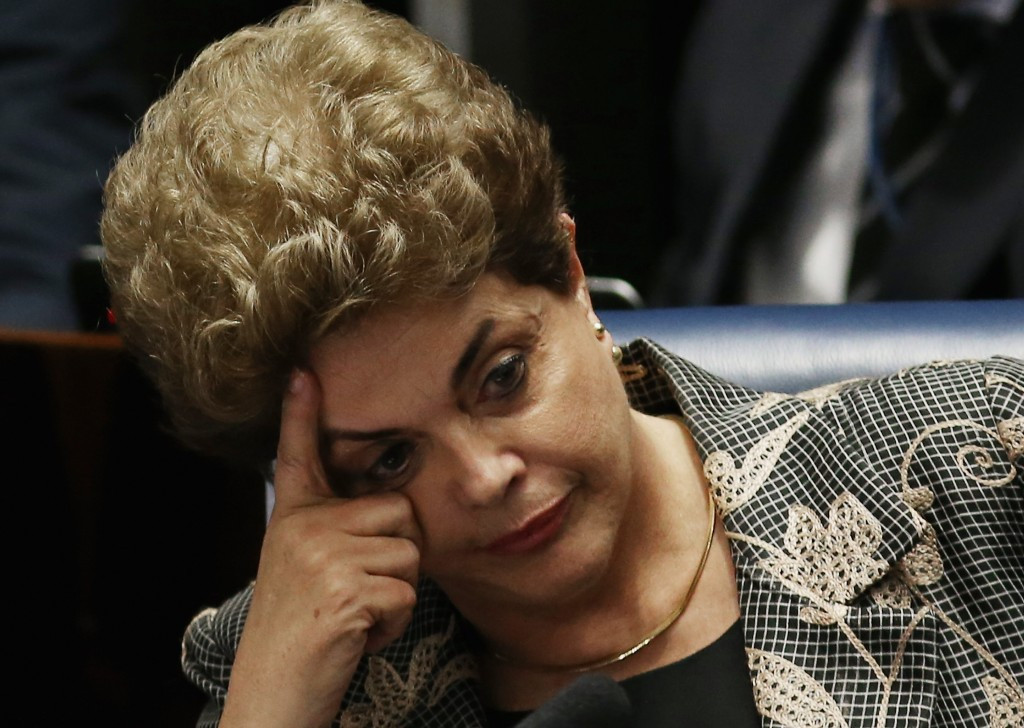 Rousseff removed from office after Senate votes for impeachment