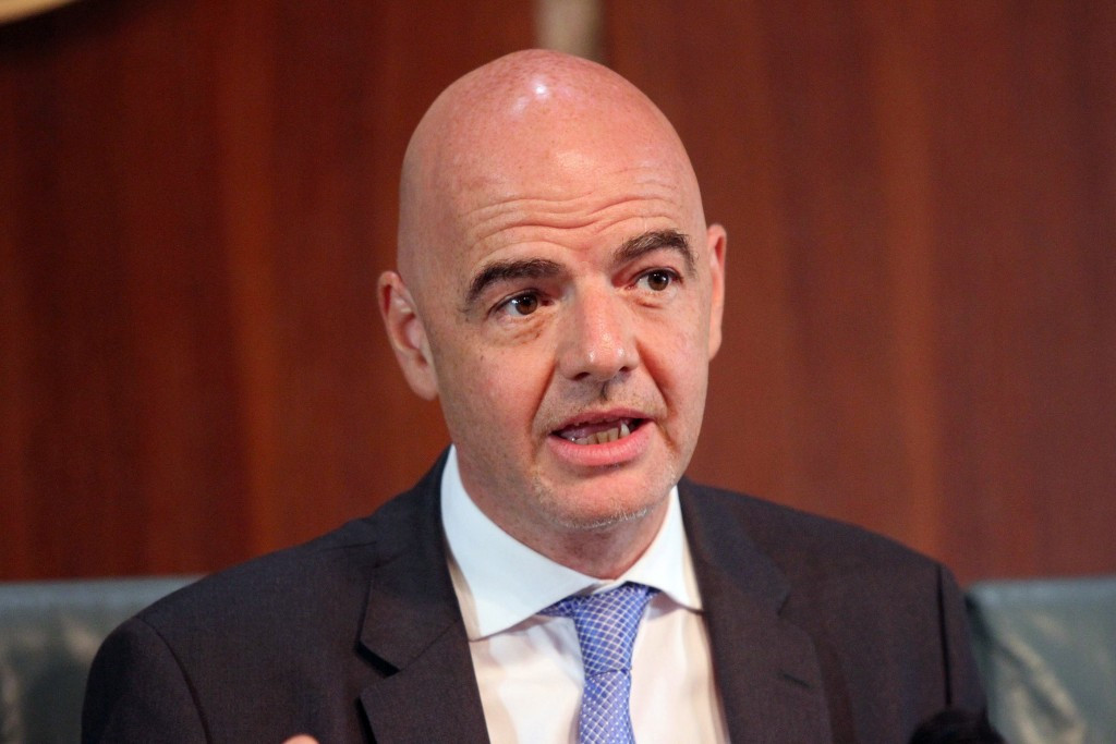 Infantino's salary set at CHF1.5 million per year by FIFA Compensation Sub-Committee