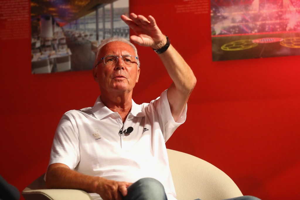 Franz Beckenbauer is under investigation for alleged corruption by Swiss Federal prosecutors ©Getty Images