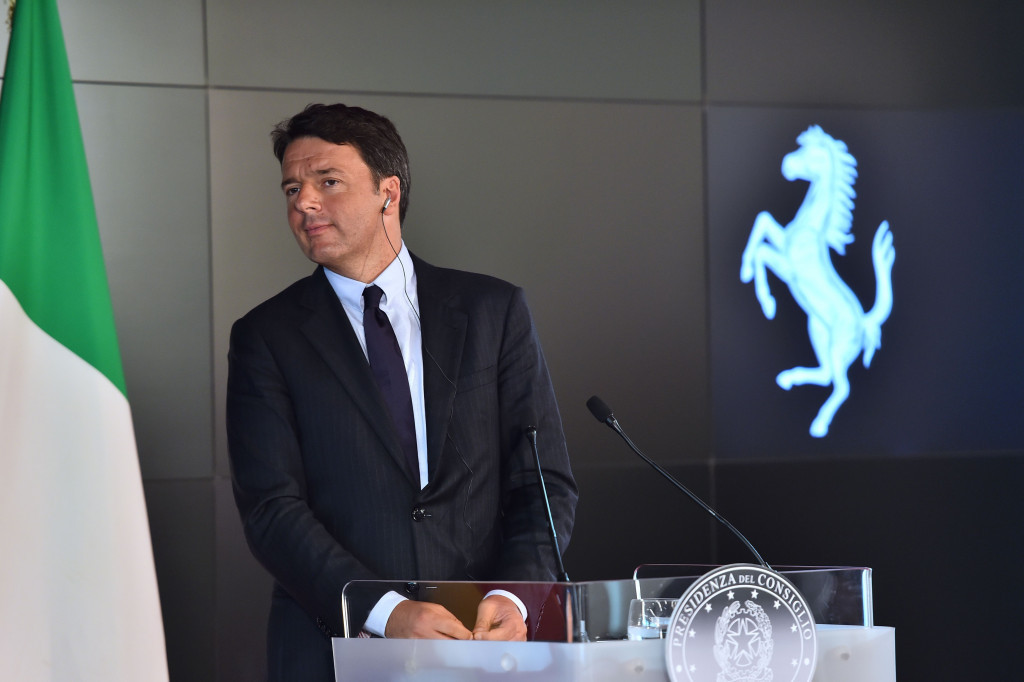 Matteo Renzi has reportedly claimed Italy would bid for the Olympics in 2028 should Rome's bid for 2024 be dropped ©Getty Images