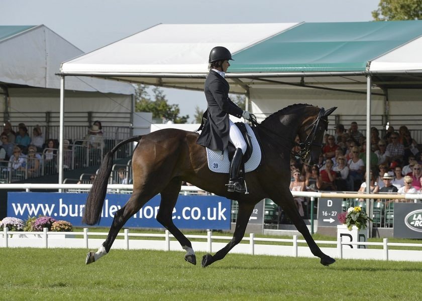 Hoy rolls back the years with vintage display on day one at Burghley Horse Trials