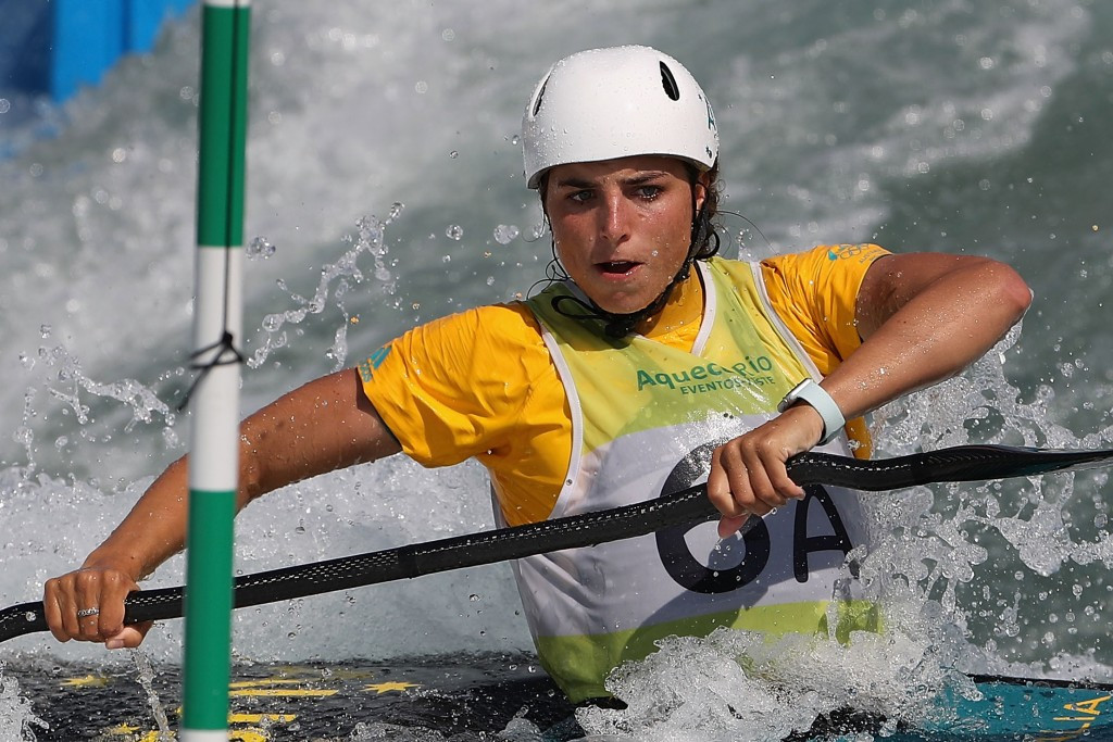 Australia's Jessica Fox qualifies for canoe and kayak semi-finals at ICF World Cup in Prague