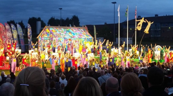 Paralympic Heritage Flame lit during special ceremony in Stoke Mandeville ahead of Rio 2016