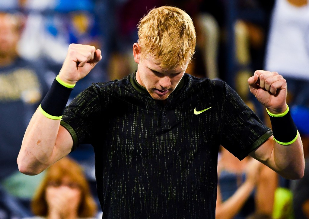 Britain's Kyle Edmund continued his excellent run of form at the US Open ©Getty Images