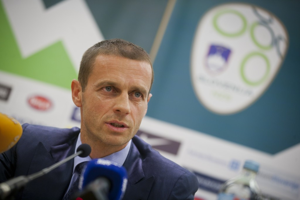 Aleksander Čeferin has vowed to fight corruption in football if he is elected as UEFA President ©Getty Images
