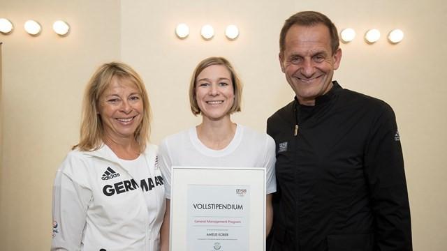 Double Olympic medallist Kober awarded DOSB grant