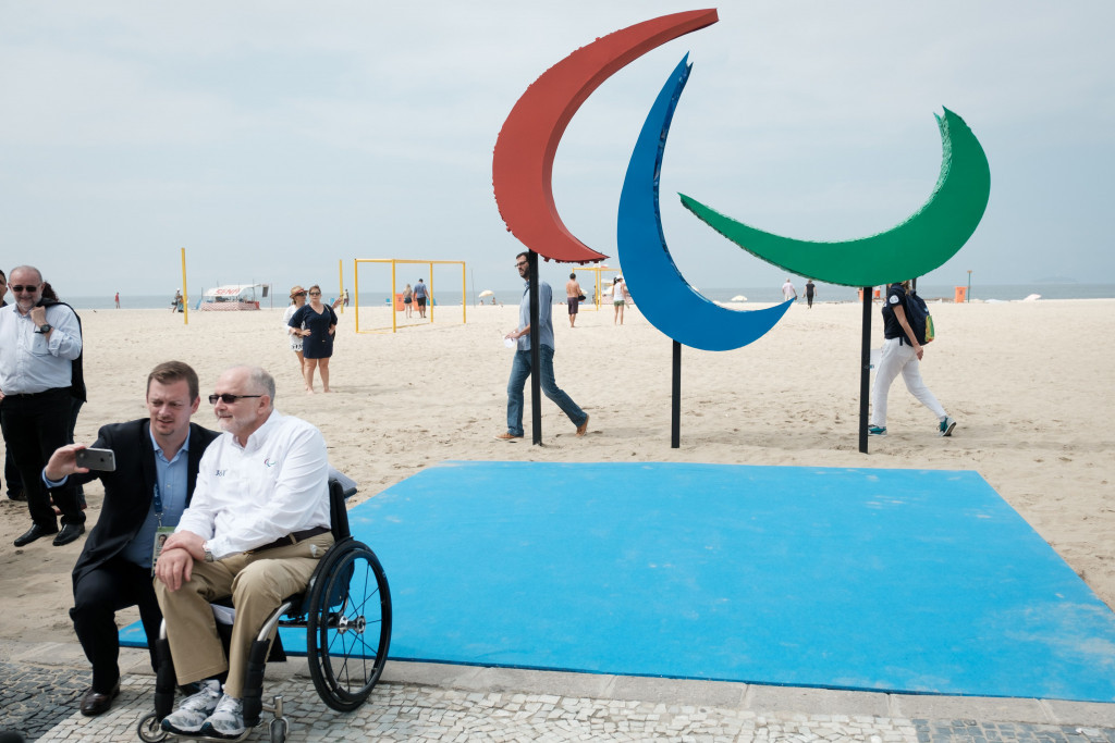 Attempts to raise the profile of the Paralympic Games are being rolled out across Rio de Janeiro ©Getty Images