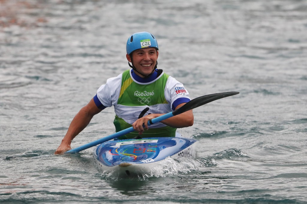 Prskavec triumphs as Czech team dominates men's K1 event at Canoe Slalom World Cup in Prague