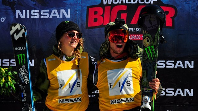 Double Swedish success at first ever Big Air World Cup event in Chile