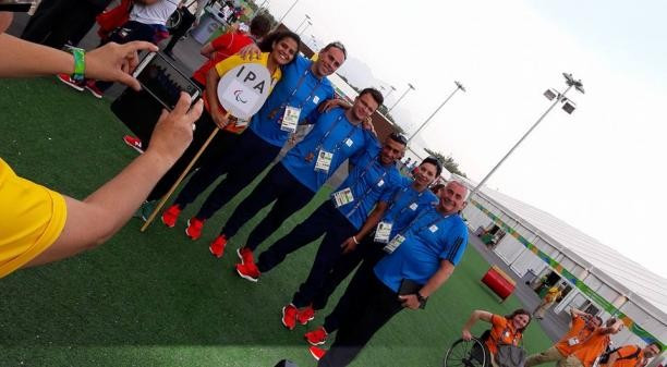 IPA athletes attend Welcoming Ceremony in Athlete's Village ahead of Paralympic Games