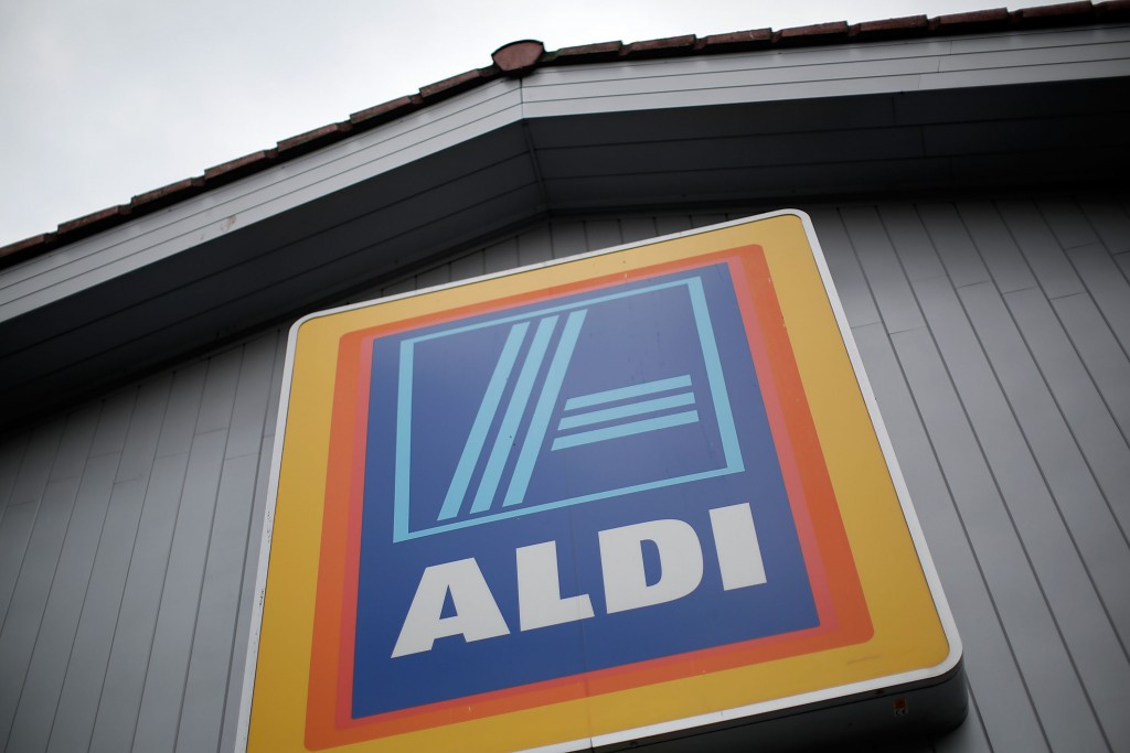 Aldi turns three checkouts gold to celebrate success of Team GB athletes