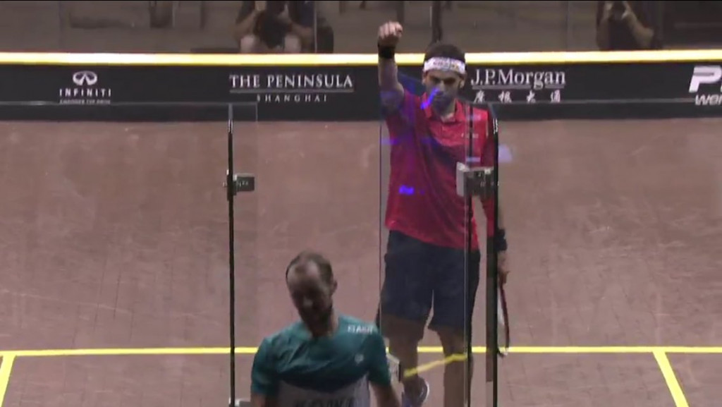 Mixed fortunes for Egypt as Elshorbagy and Massaro claim China Squash Open titles