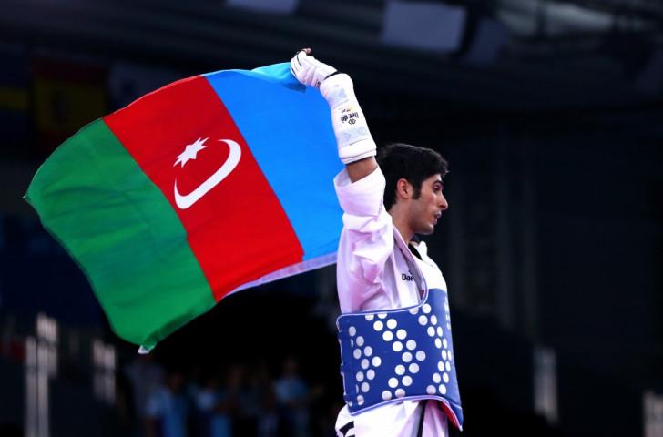 Beigi-Harchegani continues home golden streak in taekwondo at Baku 2015