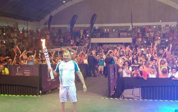 Rio 2016 Paralympic Torch tours Natal as countdown to Games continues