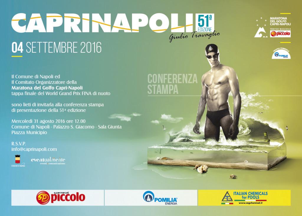 Pop Acev wins FINA Open Water Swimming Grand Prix in Capri-Napoli