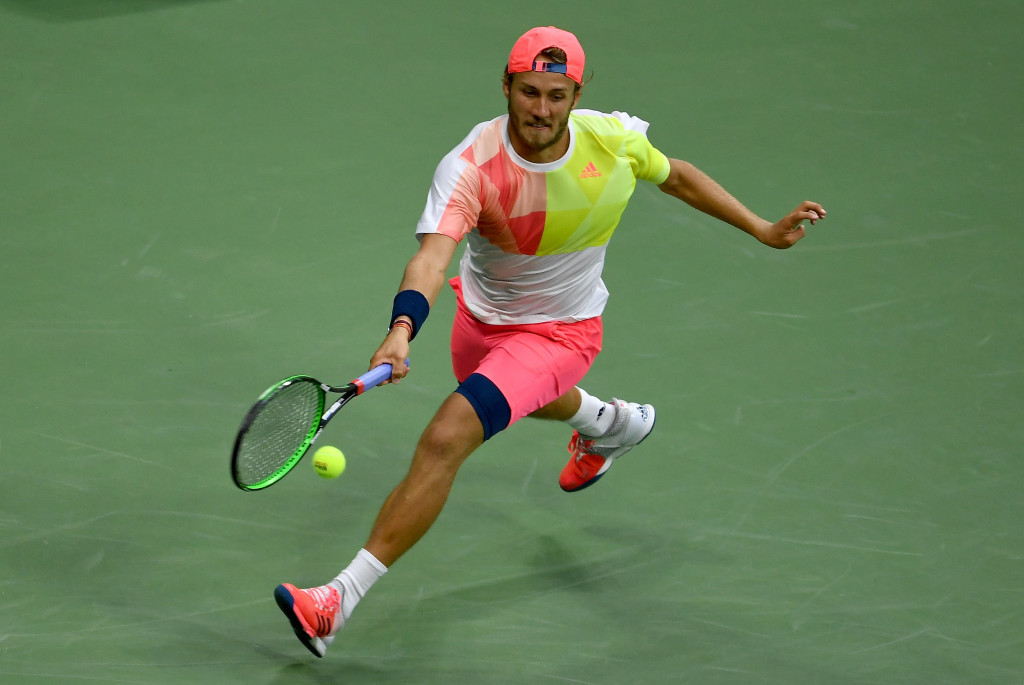 Lucas Pouille of France stunned fourth seed Rafael Nadal to reach the US Open quarter-finals ©Getty Images