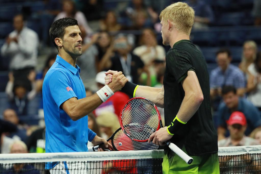 World number one Novak Djokovic cruised past Britain's Kyle Edmund ©Getty Images