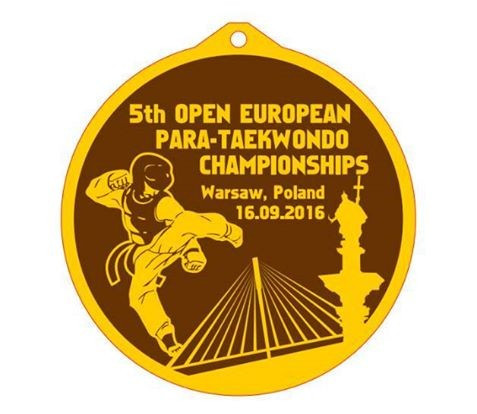Medal design for European Para Taekwondo Championships unveiled