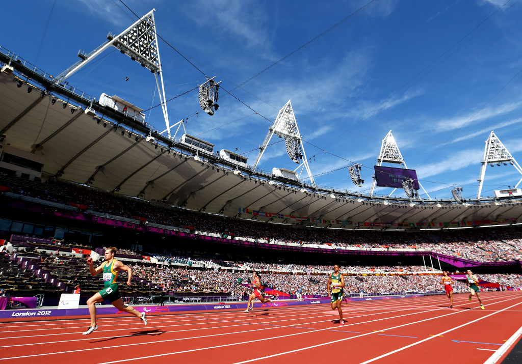 Coverage of the London 2012 Paralympic Games was beamed to 115 countries ©Getty Images