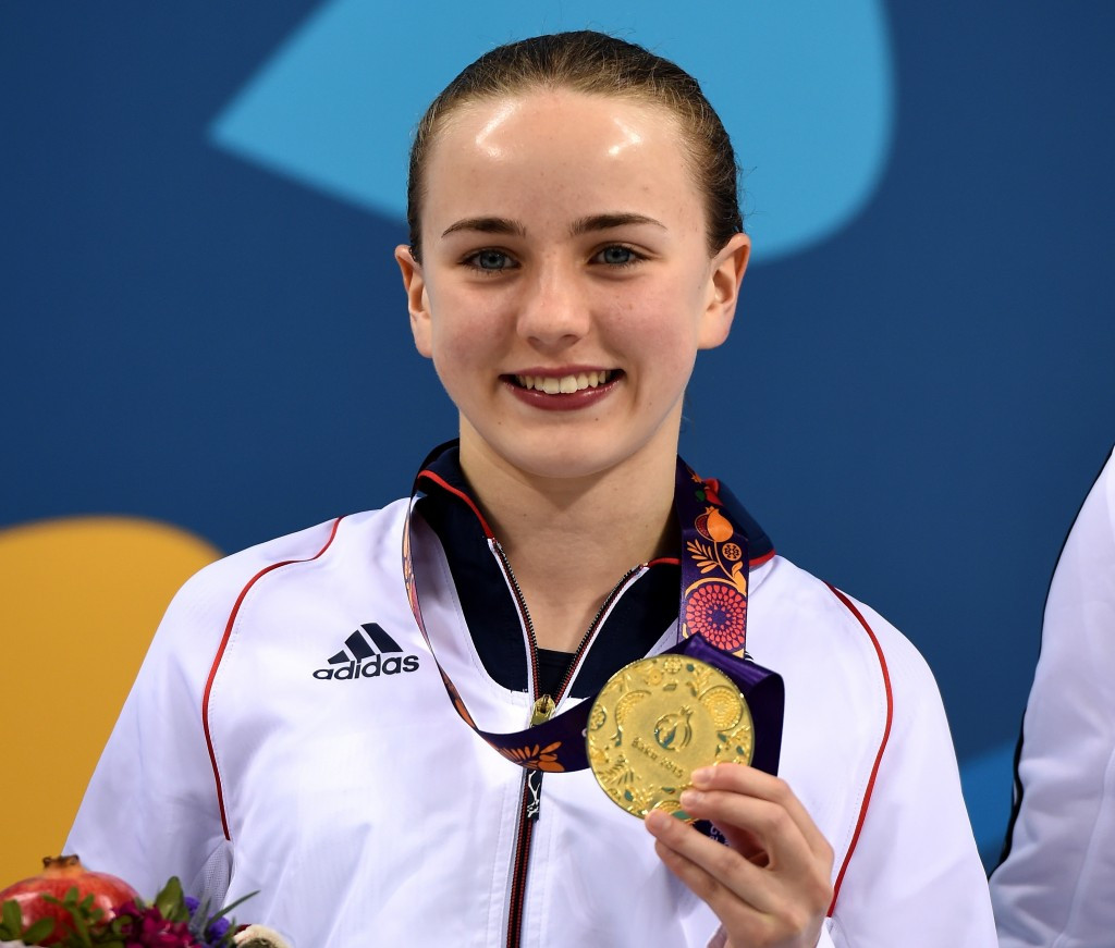 Toulson wins European Games diving gold for Britain as Russian success in pool continues